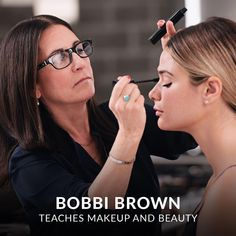 Learn how to be your own best makeup artist from beauty industry icon and cosmetics founder Bobbi Brown. #BeautyRoutine30S Makeup Tips, Beauty Makeup, Face Makeup, Hair Beauty, Beauty Box, Makeup Ideas, Beauty Secrets, Beauty Hacks, Beauty Tips