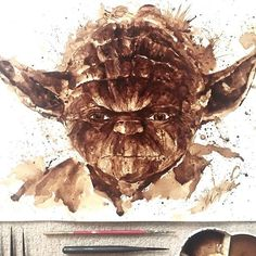 Maria A. Aristidou Paints With Coffee And It's Beautiful
