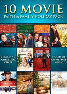 Faith & Family Holiday 10-Movie Pack, 3-DVD Set