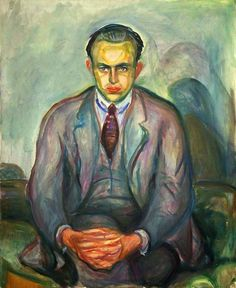 Edvard Munch, 1925-26 Rolf Stenersen oil on canvas, Munch Museum, Oslo