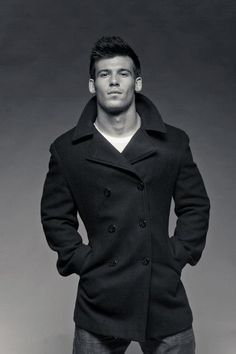 Fitted Pea Coat