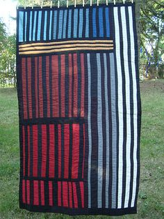 thriftomancer . Inspired by the quilts of Gee's Bend.