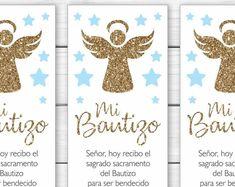 Baptism Invitation In Spanish Printable Boy Invitacion Baptism Invitation For Boys, Baptism Invitations, Invitation Wording, Letter Size, Envelope, Spanish, Place Card Holders, Printables, Baby Shower