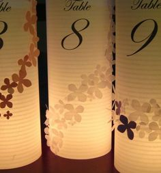 Luminaries- I've done similar to these for several weddings!