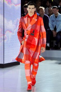 See the complete John Galliano Spring 2013 Menswear collection.