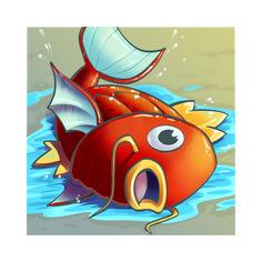 Magikarp for Pokémon Battle Royale by Anthony Clark Pokemon Pokedex, Cute Pokemon, Pokemon Stuff, Pokemon Fan, Best Pokemon Ever, Water Type Pokemon, Chibi, Spyro The Dragon, Original Pokemon