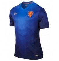 Áo Đội Tuyển Hà Lan 2014 Xanh