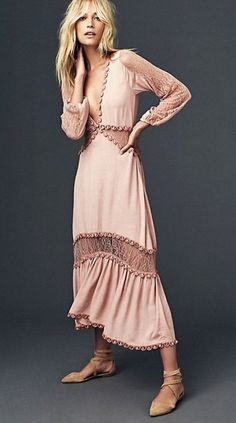 Lilou Midi Dress | Free People