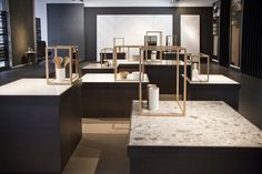 #InalcoDesignDays2016. All the new iTOPKer solutions collections for countertops are highlighted in the renovated showrooom.
