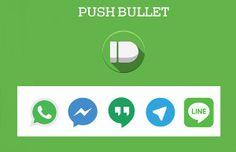 PushBullet: una solución para la relación WhatsApp Pc