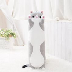 Snuggle Kitty Cat Pillows – Stylish New Deals Big Pillows, Barbie, Cat Pillow, Cozy Place, Snuggles, Happy Shopping, Shopping Deals, Cruelty Free, Gifts For Kids