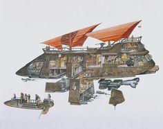 Jabba the Hut's Sail Barge