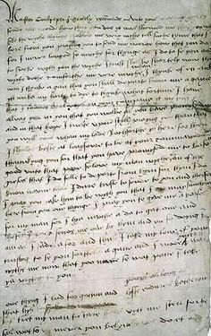 Letter from Catherine Howard 1541
