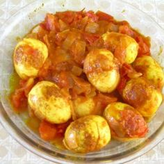 Simple hard boiled egg dish
