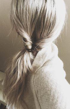 #hair #ponytail