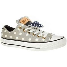 polka dot chucks. my love for converse has just intensified.