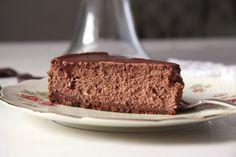Nigella Lawson's incredible chocolate cheesecake.