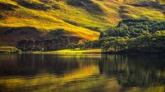 sunrise in Cumbria, North West England