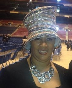 Silver beaded hat Church Suits And Hats 9e72a1f5f70