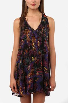 Stained Glass Racerback Frock Dress  #UrbanOutfitters