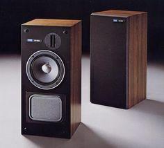 Pioneer S-110   1980 Monitor Speakers, Audio Speakers, High End Audio, Loudspeaker, Audio Equipment, Audiophile, Boom Boom, Technology, Retro