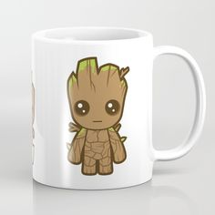 Growing Groot Mug ~ $15 ~ Guardians of the Galaxy Gifts!
