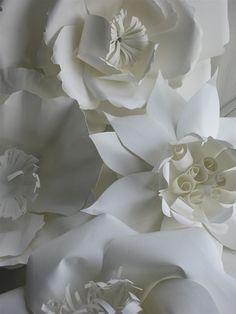 paper cut flowers