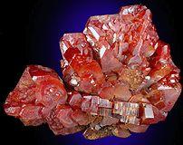 Vanadinite from Acif Mine, Mibladen, Khénifra Province, Morocco
