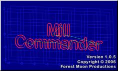 Forest Moon Productions - Mill Commander Software, Moon, Neon Signs, The Moon