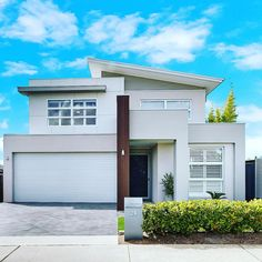 Another one of our beautiful Endota Homes SOLD ✨ Thank you again to Andrew and the team at Another One, Facade House, New Builds, New Homes, House Ideas, Art Deco, Mid Century, Building, Outdoor Decor