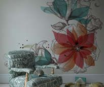 Loro - inspiración fotomural, galería de interiores • PIXERS.es