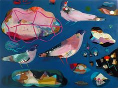 becky blair * artist - paintings: night forager