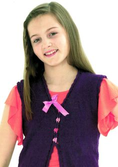 King Cole 3224 Girl Pretty Ballet Top Knitting by TheAtticofKitsch