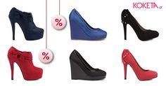 Παπούτσια που προσελκύουν την προσοχή σαν μαγνήτης!  #moda #koketa #fashion #shoes #stylish  #Highheels #shoppaholic #trends #musthave