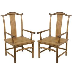1stdibs | One Of A Pair Of Vintage McGuire Chairs