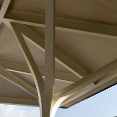 norman foster partners new winery chateau margaux nouveau chai vineyard… Norman Foster, Tree Structure, Timber Structure, Architecture Details, Interior Architecture, Classical Architecture, Landscape Architecture, Chateau Margaux Wine, Foster Partners