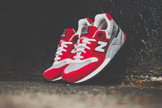 New Balance 999 | Red, Grey & Black