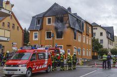 Schlimmer #Wohnungsbrand gestern in #Oelsnitz für die #Feuerwehr