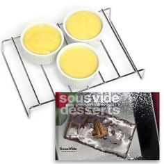 SousVide Supreme Baking Rack with Bonus Gift - Make custard,sauces, quick breads, and more.»