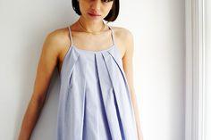 Oxford Flyaway Dress