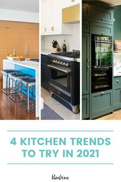Here, 4 kitchen trends that we're seeing everywhere in 2021— plus 2 cheugy trends that are so out. #cheugy #kitchen #homedecor Old Kitchen, Kitchen Decor, White Cabinets, Kitchen Cabinets, Home Decor Trends, Decor Ideas, Organic Cleaning Products, White Appliances, Countertop Materials