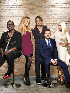 New Judges Picture - Keith Urban Community Forum