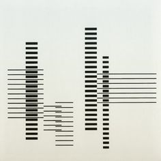 RHYTHM by Josef Albers 1958 / www.bauhaus-movement.com  bauhaus-movement: