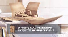 Dormitorios con área de descanso -#EscuelaDeco