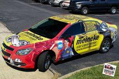 Meineke | Rotulación de vehículo