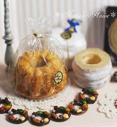 *オーナメントクッキー* - *Nunu's HouseのミニチュアBlog* 1/12サイズのミニチュアの食べ物、雑貨などの制作blogです。