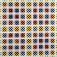 Jaap van den Enden, (1944 -), nr 515, lacquer on metal sheet, laid down on panel, 85,5 x 85,5 cm.