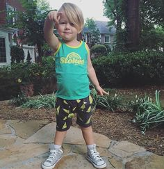 Who's stoked it's Friyay and we made it through 5 days of Preschool?!? …