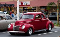 1939 Ford DeLuxe coupe - candyapple red - fvl | Flickr - Photo Sharing!