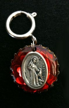 St Francis of Assisi Pet Charm To Protect by CharmsByAlliAndApple, $13.99